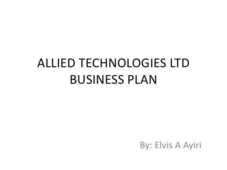Allied technologies ltd