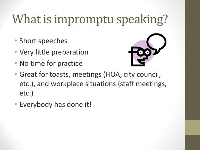 Importu speech