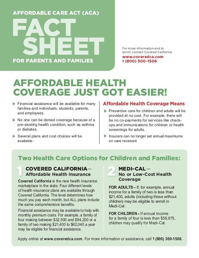 Fact sheet for parents and families customizable for Health fact sheet template