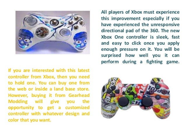 All information about game mods xbox one controller
