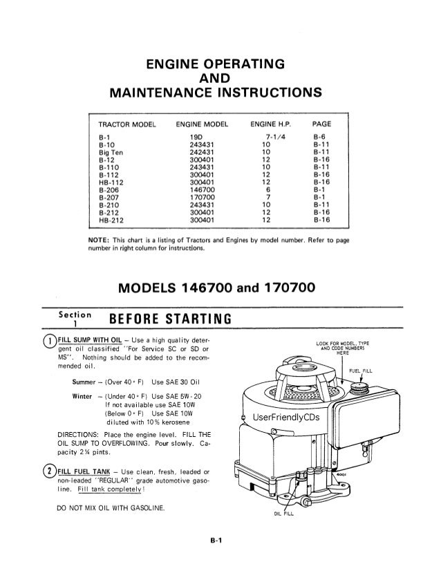 allis chalmers b series tractor pdf service manual