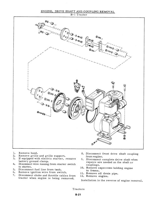 Basic Engine Wiring Diagram Allis Chalmers C Service