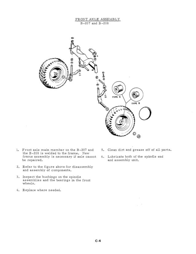 allis chalmers hb112 hb 112 ac tractor attachments service repair manual download