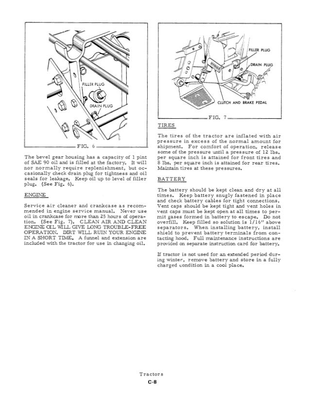 Allis Chalmers B Service Manual