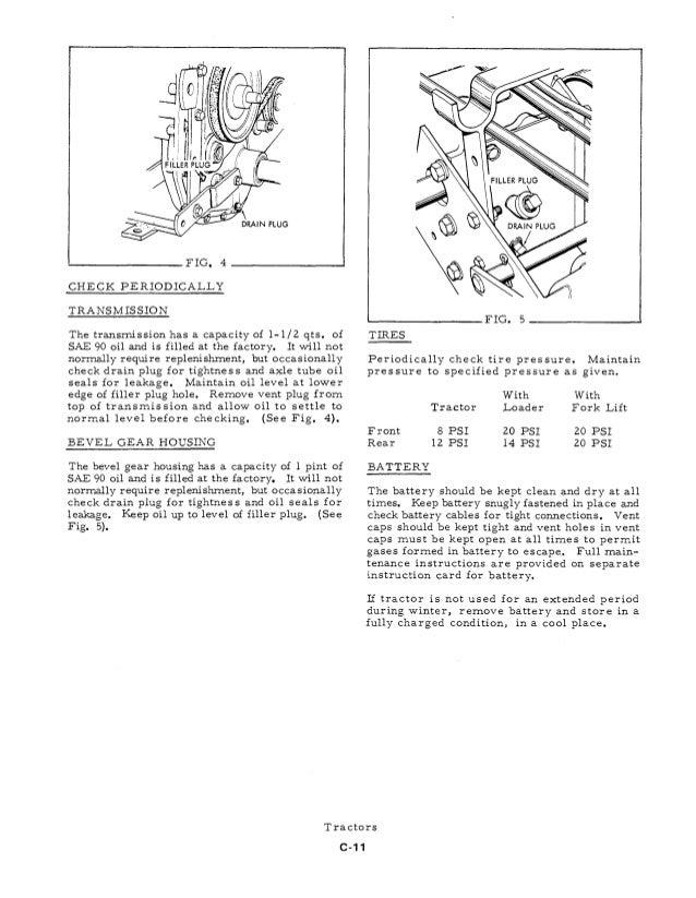 allis chalmers c service manual pdf