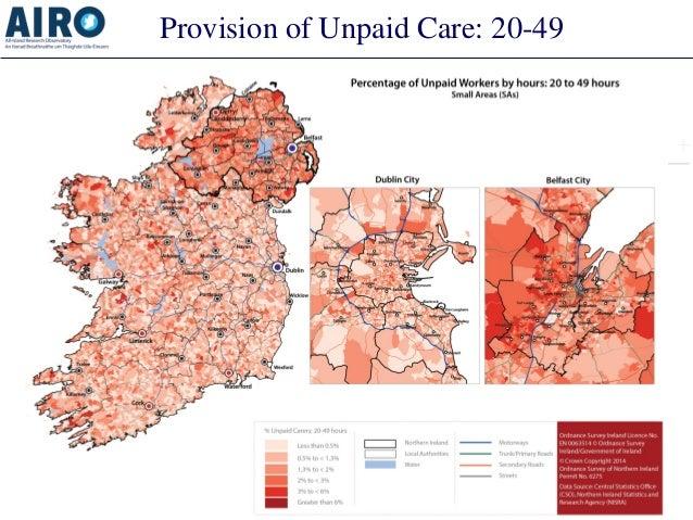 Provision of Unpaid Care: 20-49