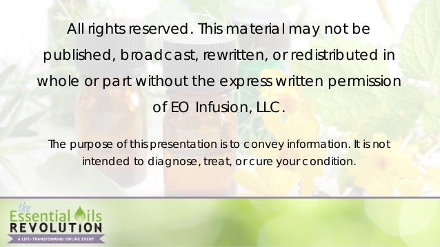 • (essential oils)