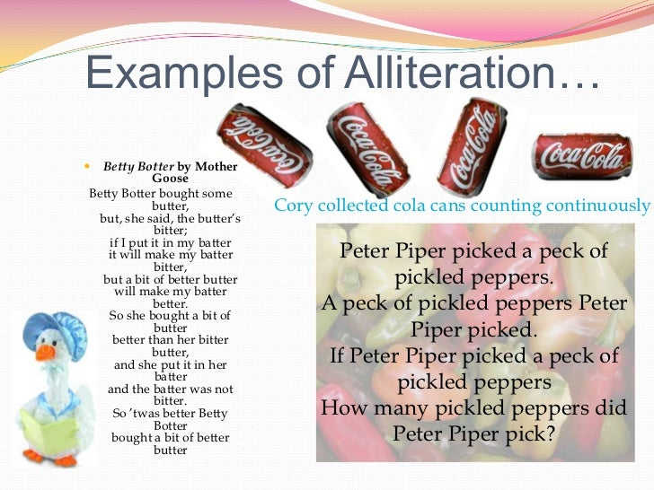 Pics For > Alliteration Examples Peter Piper