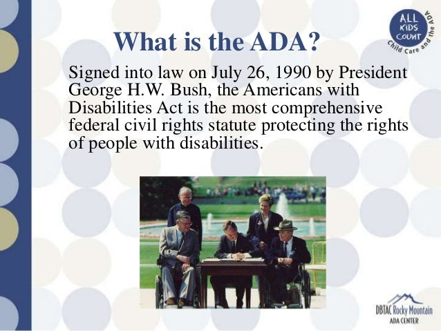 Americans With Disabilities Act: Information for People Facing Cancer