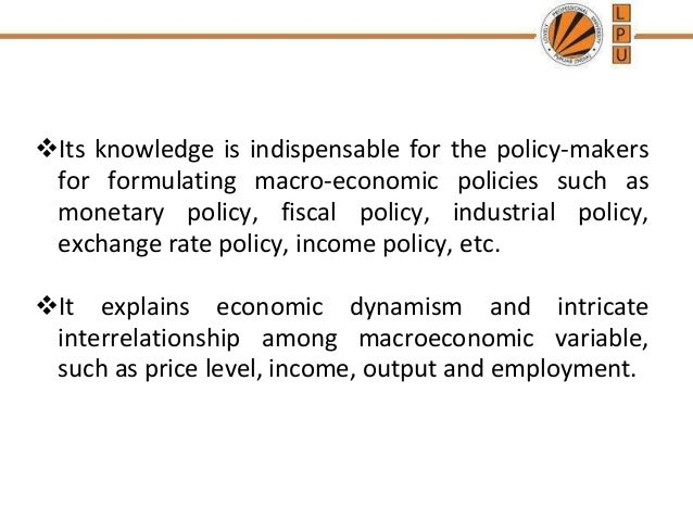 interaction of fiscal and monetary policy