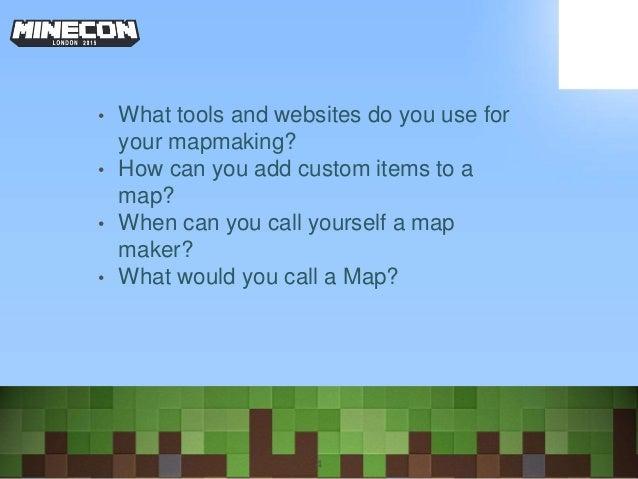 Minecon 2015 Map Making Panel