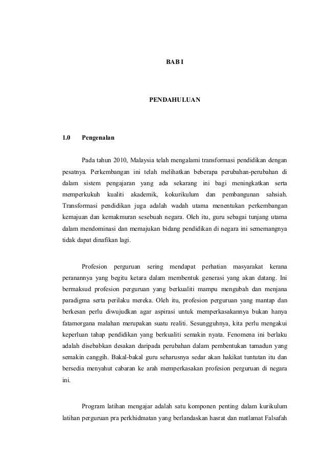 1  BAB I  PENDAHULUAN  1.0  Pengenalan Pada tahun 2010, Malaysia telah mengalami transformasi pendidikan dengan  pesatnya....