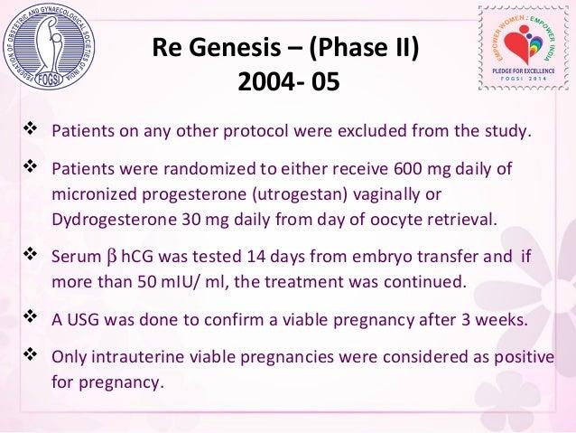 Dydrogesterone Pregnancy Test