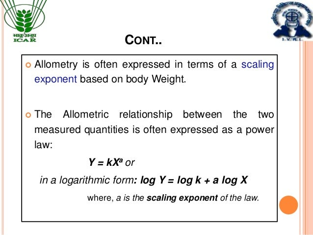 Allometry - an overview | ScienceDirect Topics