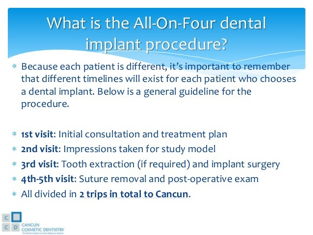 All On Four Dental Implants By Dental Implants Mexico