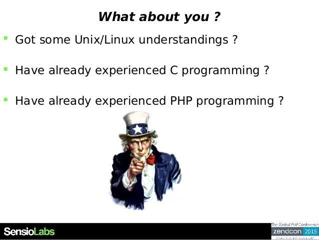 What about you ?  Got some Unix/Linux understandings ?  Have already experienced C programming ?  Have already experien...