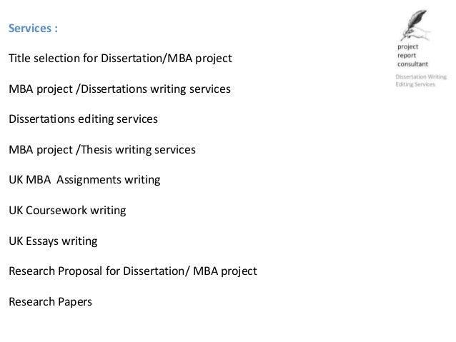 phd dissertation writing services