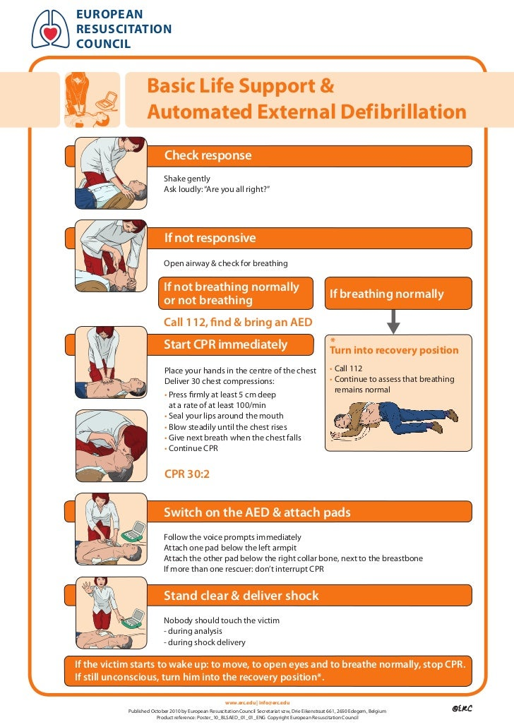 europeanresuscitationcouncil                    Basic Life Support &                    Automated External Defibrillation ...