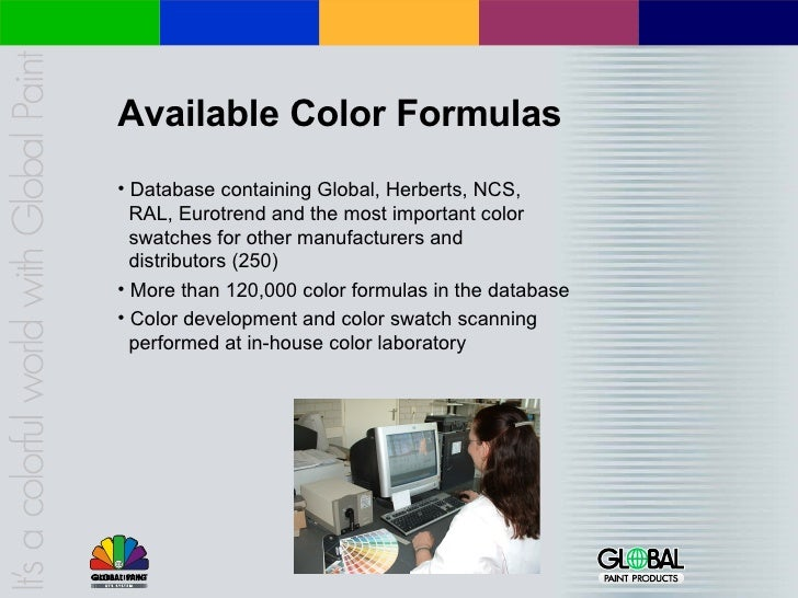 Company Profile Global Paint Products B.V.