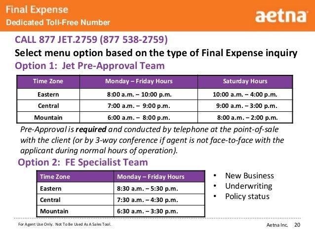 Aetna Senior Supplemental Insurance