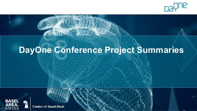 DayOne Conference Project Summaries