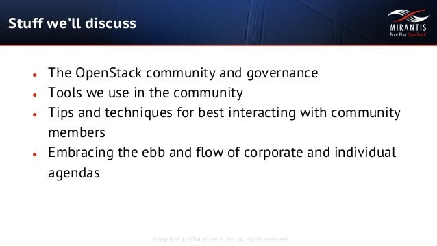 Tales From The Ship: Navigating the OpenStack Community Seas Slide 2