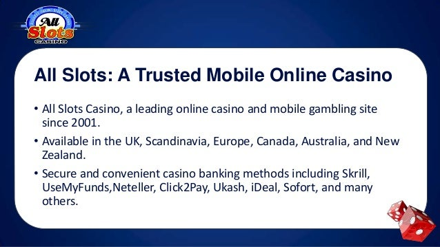 All Slots Mobile Casino Au