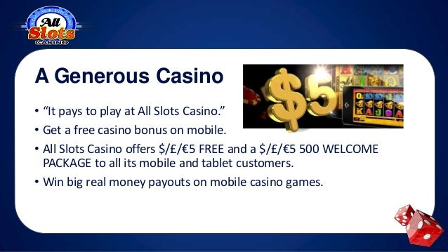 All Slots Mobile Casino Games