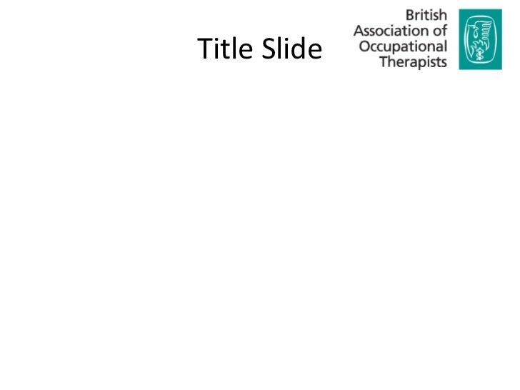 Title Slide<br />