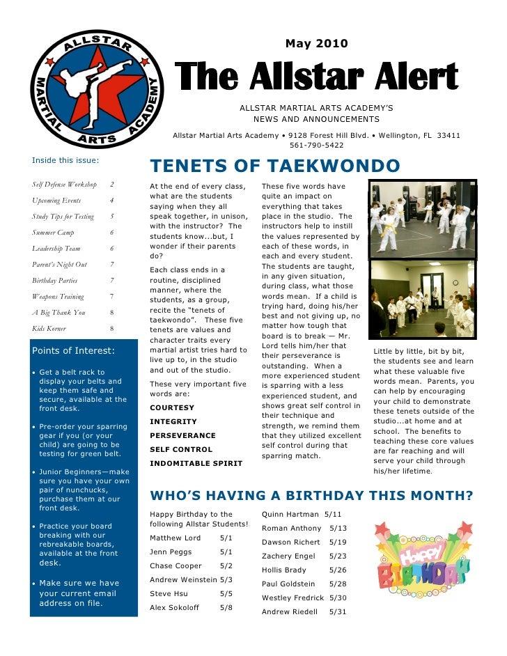 May2010                                          The Allstar Alert                                                      ...