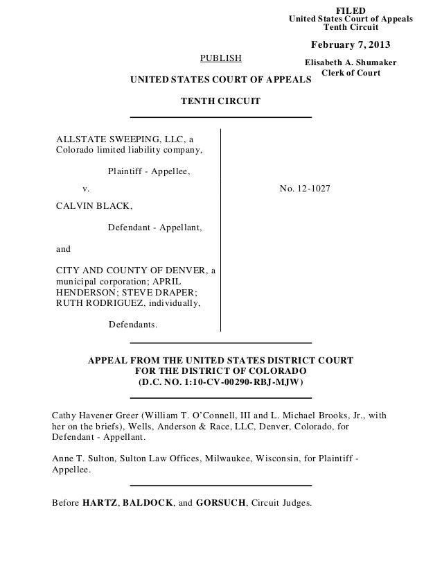 FILED                                                        United States Court of Appeals                               ...