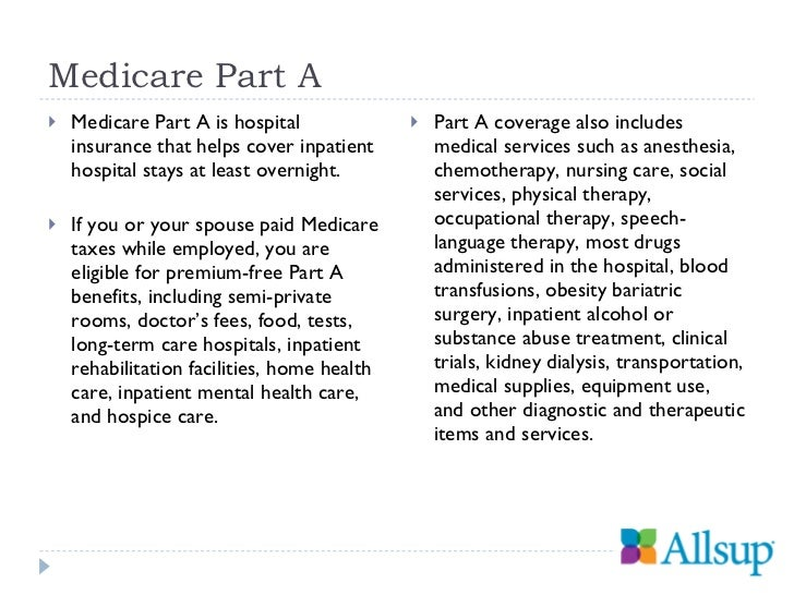 Understanding Your Medicare Options From Part A To Part D