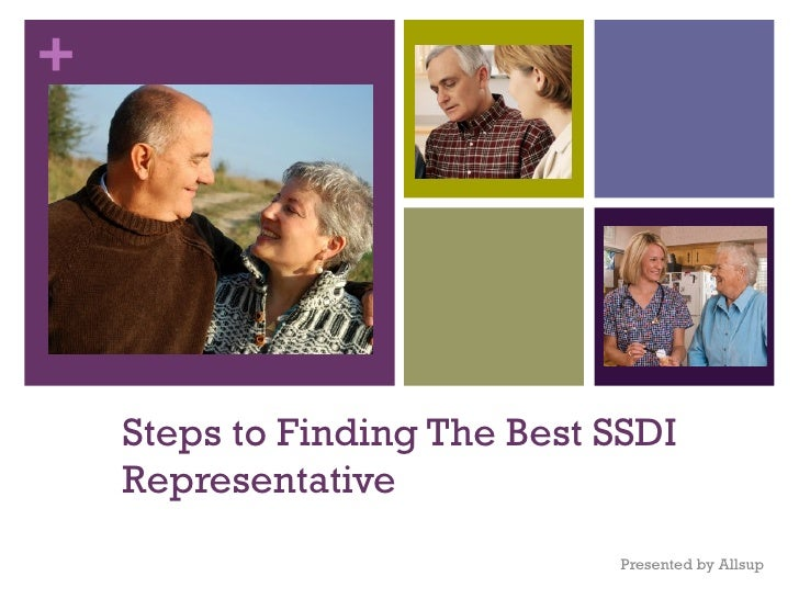 Steps to Finding The Best SSDI Representative Presented by Allsup