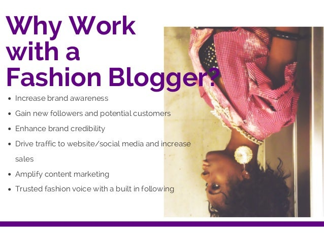 Get Your Fashion Brand Noticed!  Slide 2