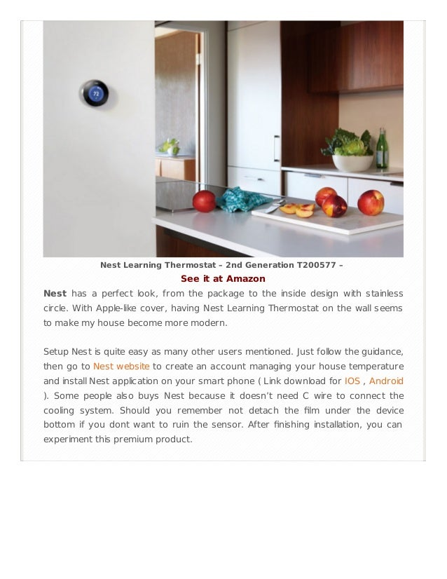 all nest learning thermostat review. Black Bedroom Furniture Sets. Home Design Ideas