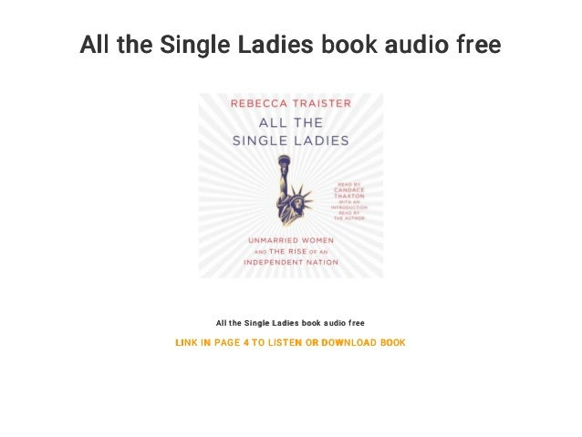 All the Single Ladies book audio free