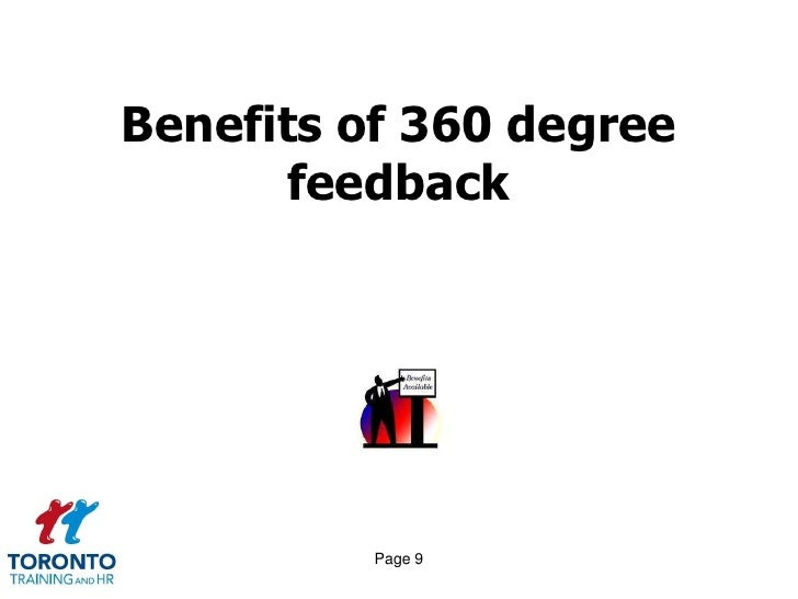 All the way round 360 degree feedback September 2011