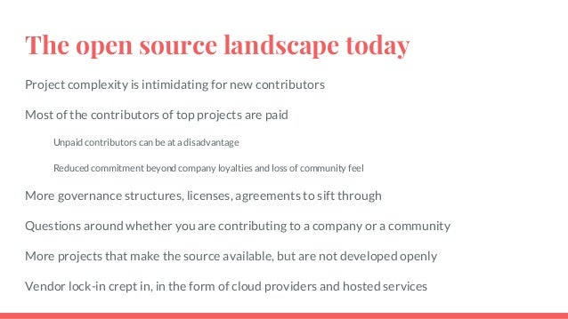 Get involved locally Find a non-profit in your area that is using open source Support a local organization by offering you...