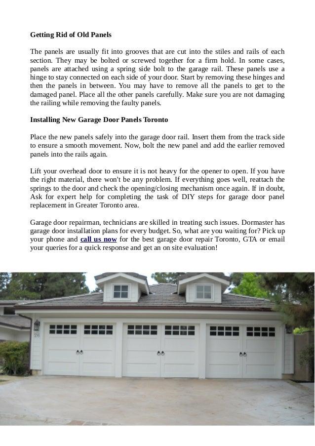 All Type Of Garage Door Repair Services In Toronto