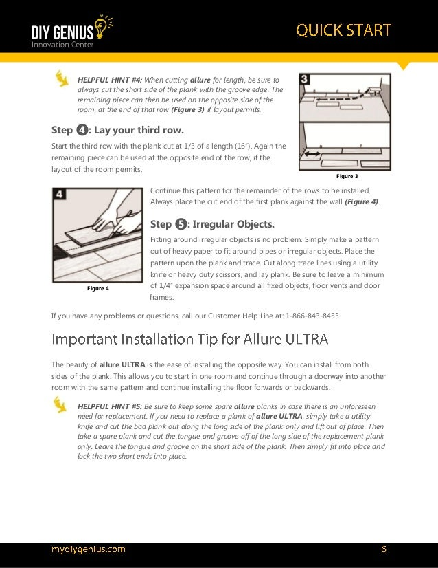 How To Install Allure Ultra Flooring Official
