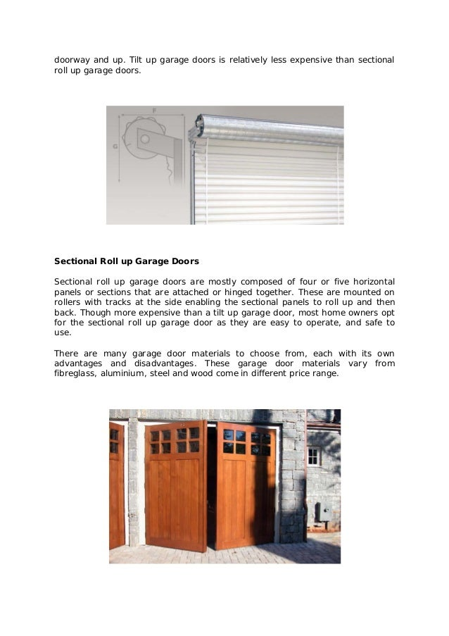 All us doors advantages and disadvantages of garage lift door types and garage door materials