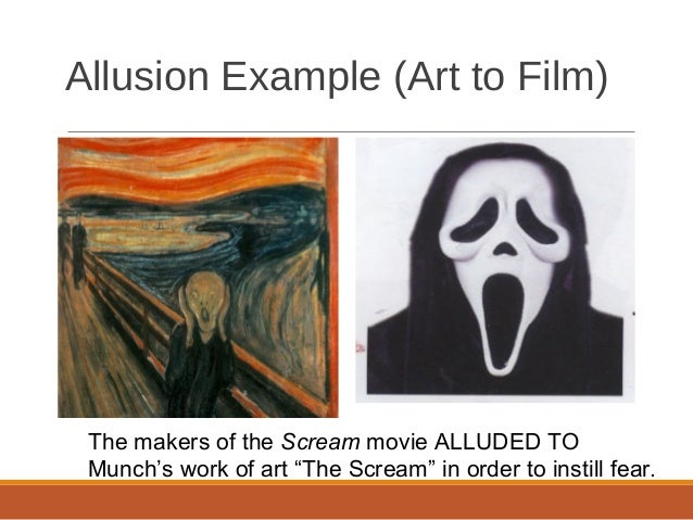 common allusions Allusions to shakespeare in willy wonka and the chocolate factory other examples of allusion allusions aren't just in the realm of words they can also exist in images.