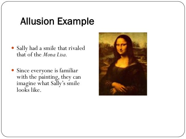 short examples of allusion