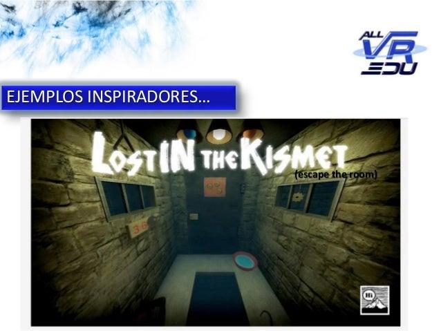 App: Cicle de l'Aigua #VR EJEMPLOS INSPIRADORES… (escape the room)