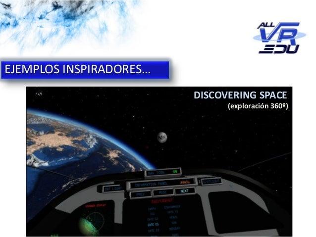 App: Cicle de l'Aigua #VR EJEMPLOS INSPIRADORES… DISCOVERING SPACE (exploración 360º)