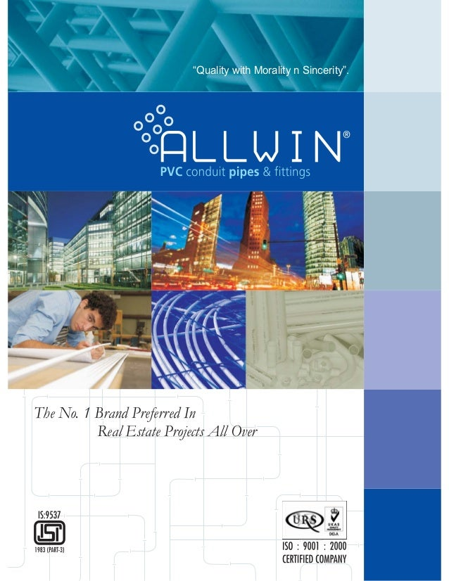 """The No. 1 Brand Preferred In Real Estate Projects All Over """"Quality with Morality n Sincerity""""."""