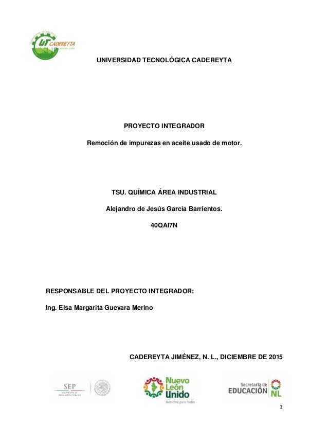 Tratamiento de aceites usados pdf