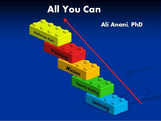 All You Can Ali Anani, PhD