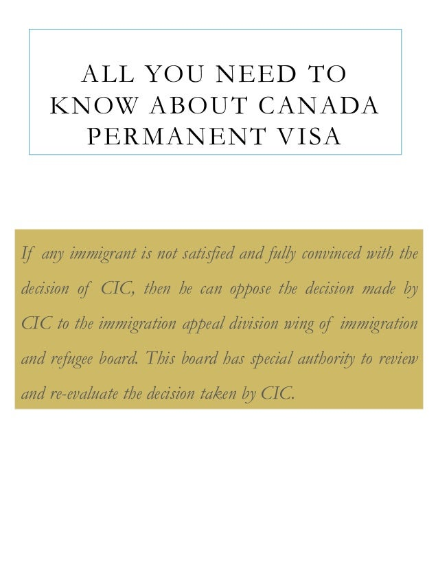 cic application for permanent residency