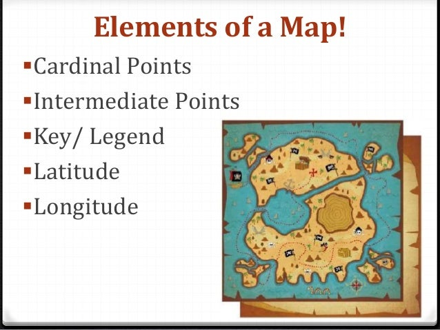 All You Need To Know About Maps - Cardinals points map us